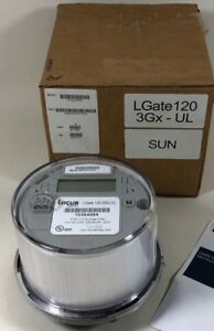Locus Lgate 120 Single phase Solar Revenue Grade Monitoring W Cellular Card New
