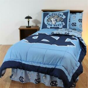 College Covers Ncubbqu Unc Bed In A Bag Queen With Team Colored Sheets