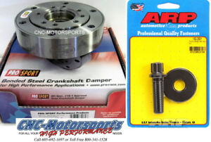 Sb Ford 351w 408w Pro Sport Race Sfi Balancer 28oz Ext Balance With Arp Bolt
