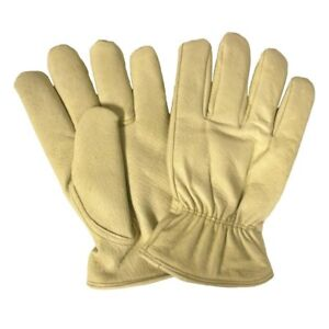 6 Pair Cordova Lined Pigskin Leather Insulated Winter Driving Gloves Series Xl