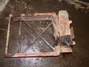 Farmall 560 Tractor Front Bolster