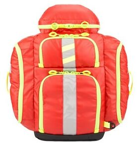 New Statpacks G3 Perfusion Ems Medic Backpack Bag Red Stat Packs