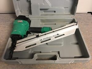 Grizzly H7665 21 Round Head Framing Nailer W Case Fast Shipping