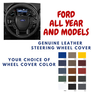 Ford Expedition Wheelskins Leather Steering Wheel Cover Custom Fit Many Colors