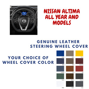 Nissan Altima Wheelskins Leather Steering Wheel Cover Custom Fit Many Colors