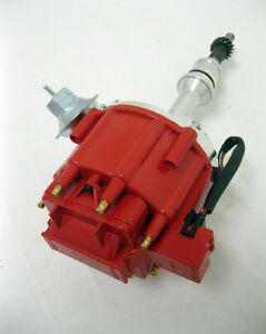 Sbf Ford 351w Windsor Red Cap One Wire Hei Distributor W 50k Coil Replacement