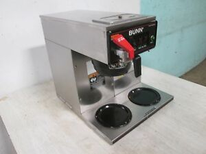 bunn Cwt 15 Commercial Hd pour over automatic nsf Coffee Brewer W 3 Warmer