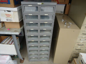 Large Industrial Metal Cabinet 52 1 2 Tall Craft Steampunk Tool Vtg Storage