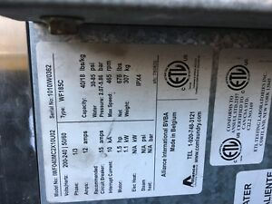 Ipso 40 Lb Washer For Laundromat Type 185c Clean And Excellent Running Washer