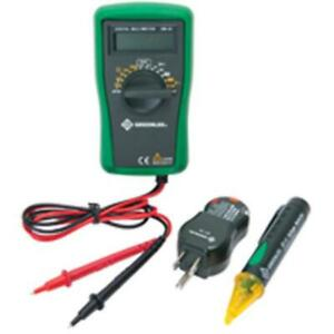 Greenlee Textron Tk 30a Basic Electrical Tester Set 3 Piece