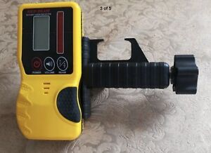 Laser Detector Receiver For Rotating Laser Level Leica Topcon Spectra Rugby