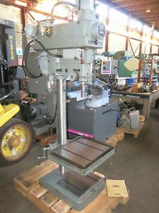 Clausing 20 Vs Drill Press With Air Hydraulic Down Feed
