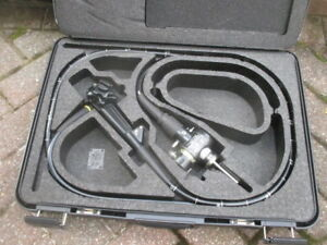 Olympus Gif Type 130 Gastroscope Evis Endoscope Md 252 In Carry Case Great