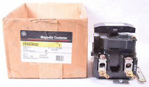 Ge Magnetic Contactor Cr305n002 Size 4 2 Pole