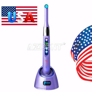 Original Woodpecker Dental I Led Wireless Led Curing Light 2300mw cm Purple