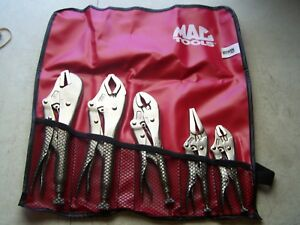 Mac Tools 68mt 5 Piece Vise Grip Set Made By Irwin New In Pouch