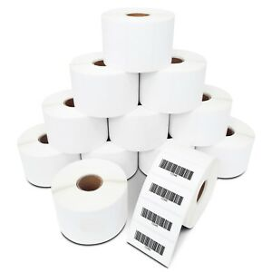 2x1 Direct Thermal Labels Zebra Datamax Nex Lp2824 Lp2422 Lp2844 Zp450 1300 roll