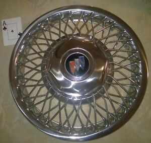 One Used Buick Wire Wheel Cover Spoke Hub Cap Looks Like Part 10091787 1118a