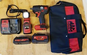 Mac Tools 20v Mcf891m1d1 3 8 Cordless Impact Wrench Kit With Mcl044 Light