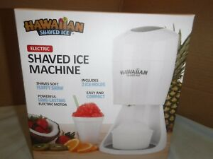 New Electric Shaved Ice Machine Hawaiian Shaved Ice Snow Cone Shaver Icee