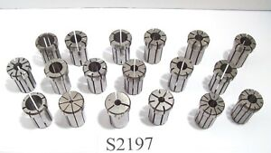 18 Pc Da180 Collet Set Range Between 1 8 3 4 Kennametal Others Da 180 S7