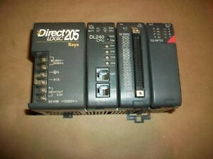Koyo Automation Direct Plc System D2 03b D2 240 D2 32nd3 D2 08td2