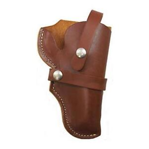 Hunter 1155 S w Governor Belt Holster W thumbsnap Rh Leather Brown
