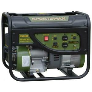 Gasoline 2000 Watt Portable Generator