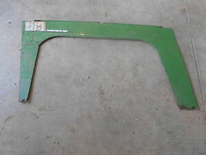 Oliver 880 Tractor Left Side Curtain