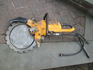 Partner K 3500 14 Hydraulic Power Cut off Concrete Ring Saw Underwater
