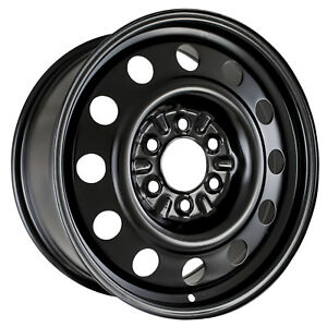 03526 New Compatible Spare Black Steel Wheel 18in Fits Ford F150 Truck 2004 2018