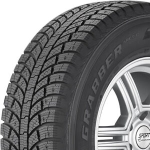 2 New 245 65 17 General Grabber Arctic Winter Performance Tires 245 65 17