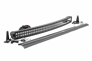 Rough Country 40 Black Series Dual Row Curved Cree Led Light Bar
