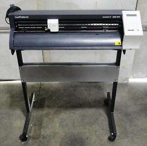 Roland Gs 24 Camm 1 24 Precision Vinyl Cutter With Stand