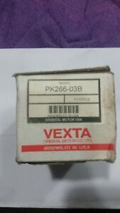 Vexta Stepper Motor Model Pk266 03b Oriental Motor Co Ltd