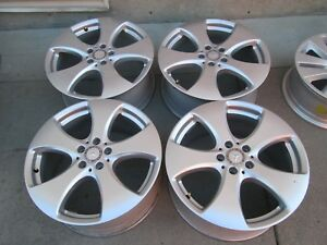 19 Mercedes Gl350 Gls450 Oem Factory Original Wheels Rims Set 4