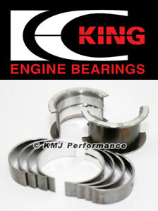 King Mb554am Chevy Small Block Small Journal 283 302 327 Std Size Main Bearings