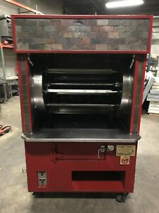 J r Gas Infrared Wood Burning Smoked Charcoal Chicken Rotisserie