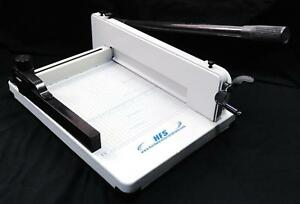 Hfs 12 Guillotine Stack Paper Cutter