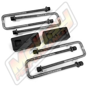 1 5 Rear Leaf Spring Block U Bolt Lift Kit 2wd Dodge D100 D150 With Help Spring