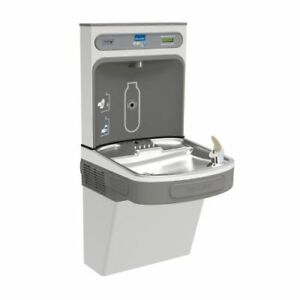 Elkay Ezs8wssk Ezh2o Hands free Drinking Fountain Bottle Filling Station With