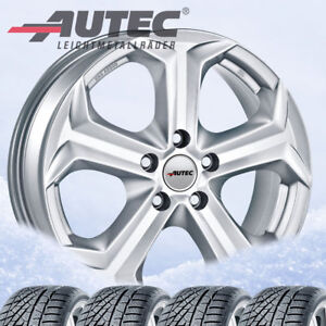 4 Winter Wheels Tyres Xenos Sil 215 60 R17c 104h For Vw T6 Continental Vancow