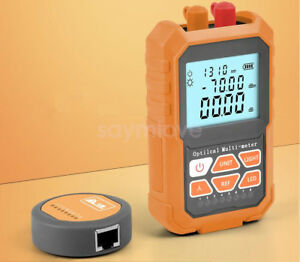 3in1 Fiber Optical Power Meter 15mw Visual Fault Locator Rj45 Cable Tester