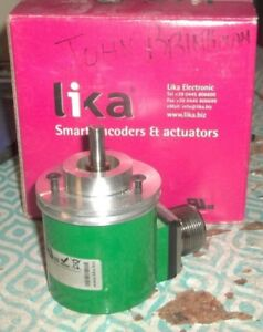 Lika Encoder I65 h 1000zcp4cr Incremental Pulse Rotary n2