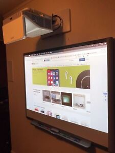 Interactive Smart Board Sb680 Smart Uf70w Short throw Projector