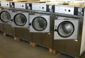 Wascomat Front Load Washer W125 1ph Stainless Steel