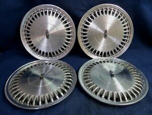 Lincoln Town Car 89 93 Continental 88 93 15 36 Fins Wheel Covers Set Of 4