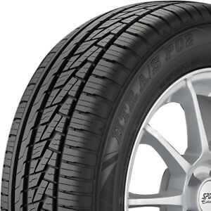 4 New 215 45 17 Sumitomo Htr A s P02 All Season High Performance 500aa Tires