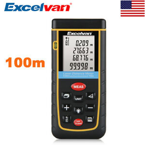 100m Digital Laser Distance Meter Range Finer Measuring Tape Diastimeter Tools