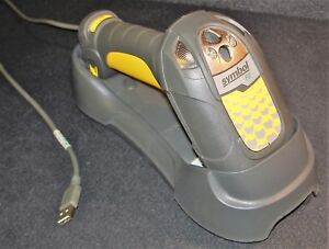 Symbol Fz Ls3478 fz20005ww Barcode Scanner W Charger Usb Cable